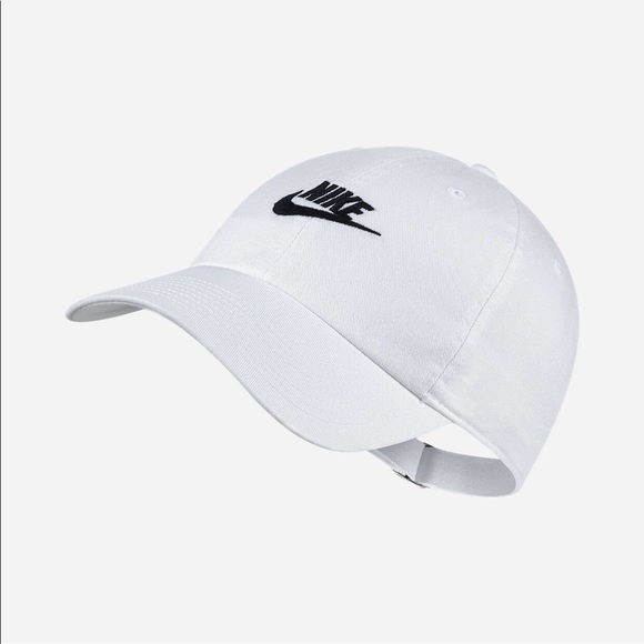 7f3d72c0122 NIKE SPORTSWEAR HERITAGE 86 DAD HAT WHITE